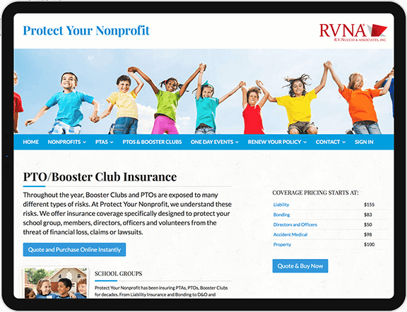 non-profit liability insurance