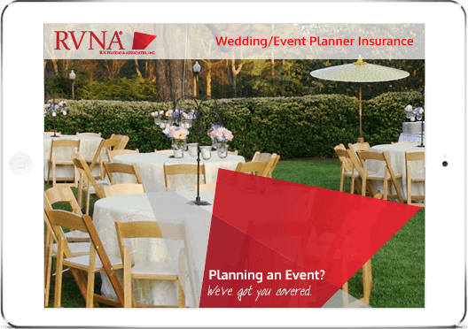 Insurance For Wedding Planners