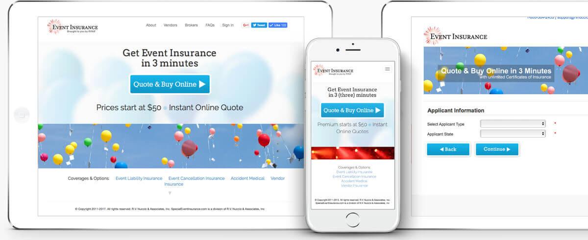 Event Insurance Quote Magnificent R.vnuccio & Associates » Event Insurance